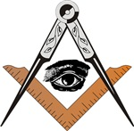 Masonic Square and Compass #62