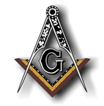 Masonic Square and Compass #24