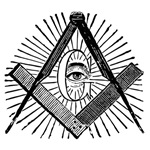 Masonic Square and Compass #15