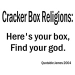 Cracker Box Religions