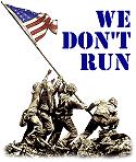 We Don't Run!