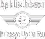 Funny 45th Birthday