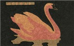 Swan Matchbox Label
