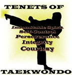 Traditional Taekwondo Tenets Gold
