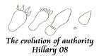 Evolution of Authority - Hillary 08
