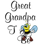Playful Great Grandpa To Be