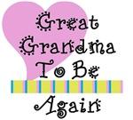 Great Grandma To Be Again Stripes