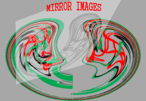 ART/ABSTRACT-TITLE-MIRROR IMAGES