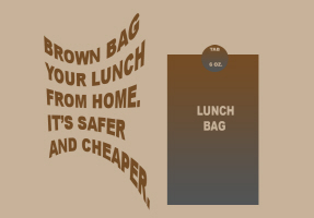HUMOR/BROWN PAPER BAG