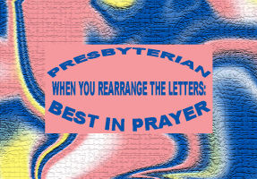 HUMOR/BEST IN PRAYER