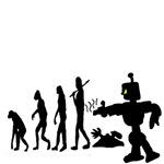 Funny Robot Evolution