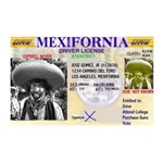 Mexifornia Drivers License