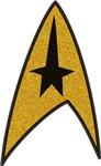 Start Trek TOS Patch-Style Logo
