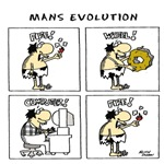 Man's Evolution
