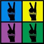 Color Peace Sign Gear