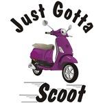 Vespa LX Plum Just Gotta Scoot