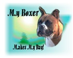 <h5>My Boxer Makes My Day</h5>