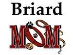 Briard Mom