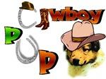 Collie Cowboy Pup