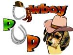 Beagle Cowboy Pup