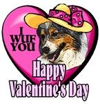 Australian Shepherd  Valentines Day Gifts