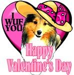 Shetland Sheepdog  Valentines Day Gifts