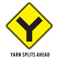 Knitting Road Signs