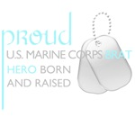 Marine Corps Brat (blue)