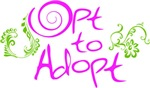 Opt to Adopt floral
