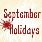 September Strange Holidays