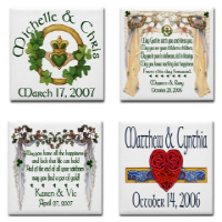 Irish Wedding & Anniversary Design Samples