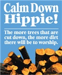 Calm Down Hippie!