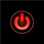 Power Symbol - Red