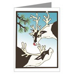 Reindeer Holiday Cards
