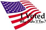 I Voted Flag
