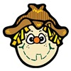 Silly Country Style Scarecrow Face