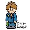 Cute Little Future Lawyer Boy