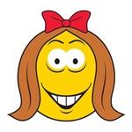 Cute Little Girl Smiley