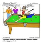 POOL SHARK AT HIS BEST!