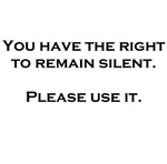 Right To Remain Silent Christmas