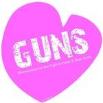Heart Guns Pink
