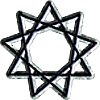 The Nonagram or 9 Pointed Star