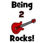 Being 2 Rocks! Guitar