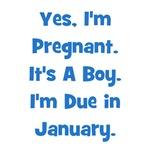 Pregnant w/ Boy due January