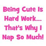 Being Cute Is Hard - Pink