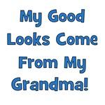 Good Looks from Grandma - Blue