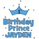 1st Birthday Prince - Jayden