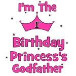 1st Birthday Princess's Godfather!