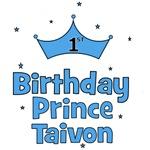 1st Birthday Prince Taivon!