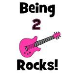 Being 2 Rocks! pink